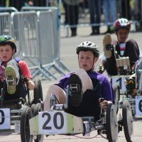 On your marks! Scout pedal car championship takes poll position thanks