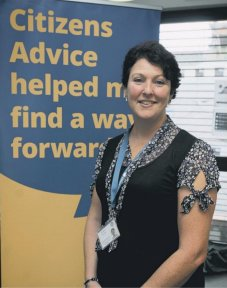 Lisa Kidston, Chief Officer at Citizens Advice Wigan Borough