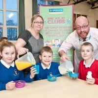 Breakfast club gives get up and go to pupils and parents