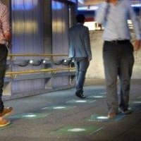 Pedestrian power: A million pairs of feet to light sustainable walkway