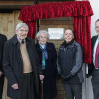 Father and son honoured at Audlem housing development