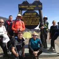 Intrepid colleagues scale one of world's tallest mountains for cancer